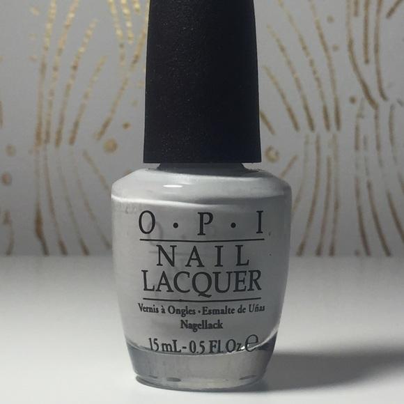 Makeup Light Grey Opi Nail Polish Poshmark
